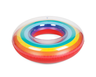 bouée rainbow sunnylife
