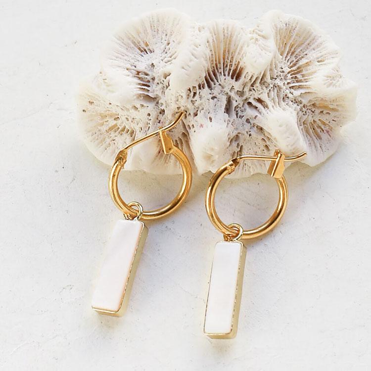 boucles d'oreilles kyano nacre shlomit ofir