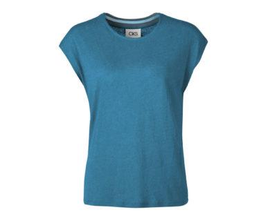 t-shirt jarka bleu vert cks
