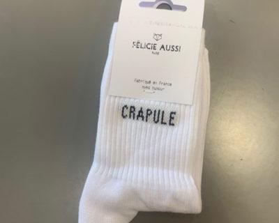 chaussettes crapule