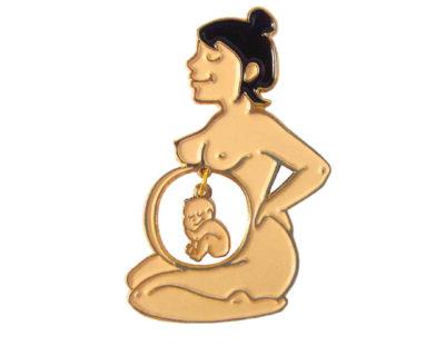 pin's enceinte coucou suzette
