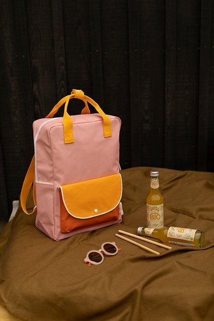 Backpack rose orange 2