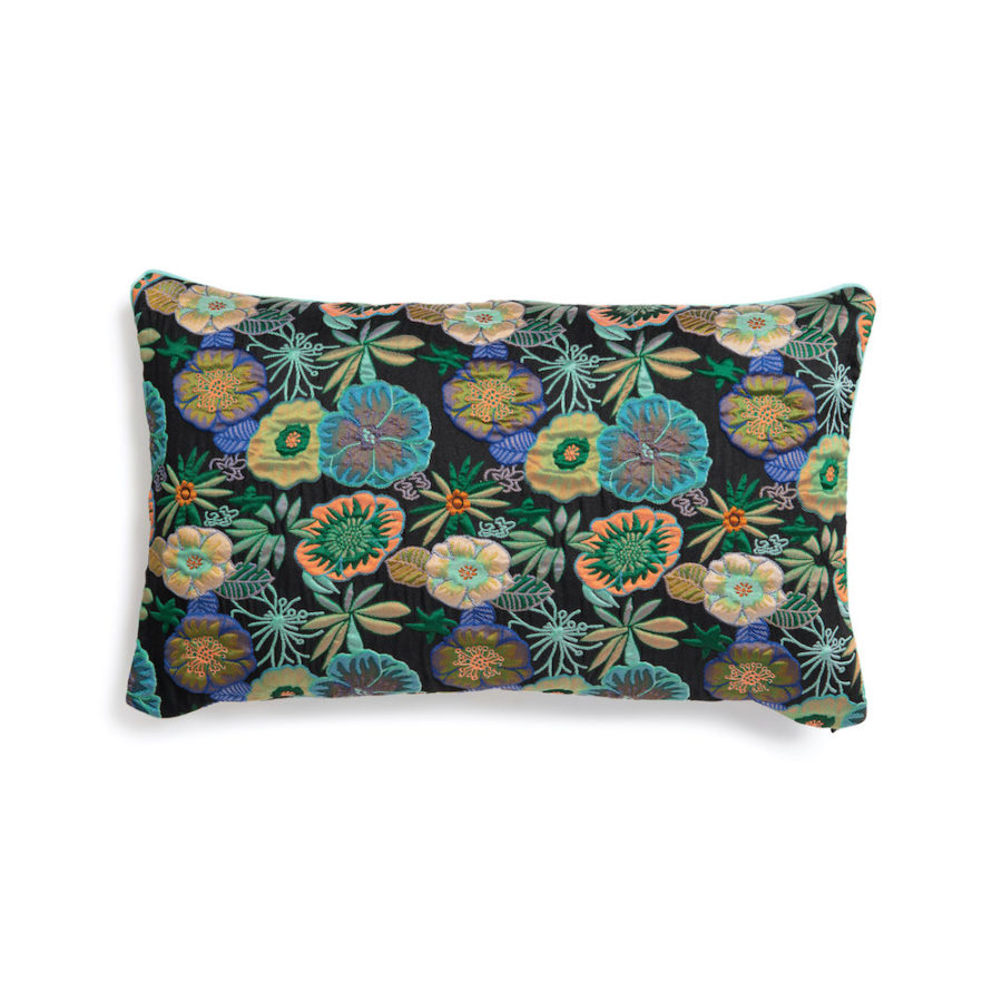 Coussin rectangulaire bloom