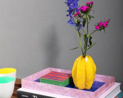 Vase starfruit