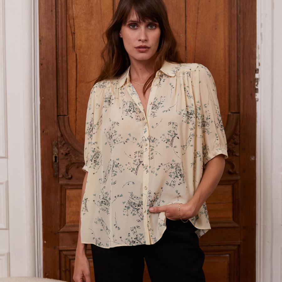 blouse belinda crème idano