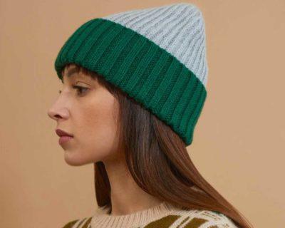 bonnet ava vert mapoésie made by moi