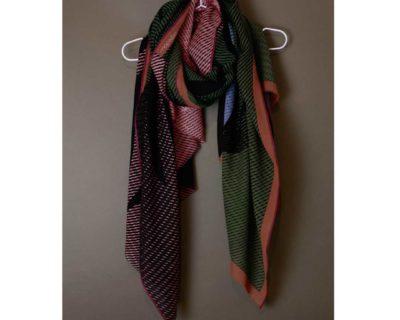 foulard moon kaki mapoesie
