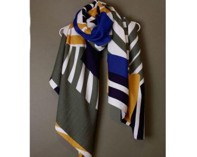 foulard onirique kaki