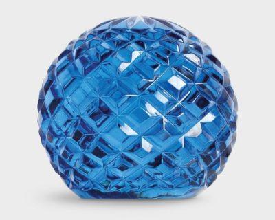 presse papier bleu