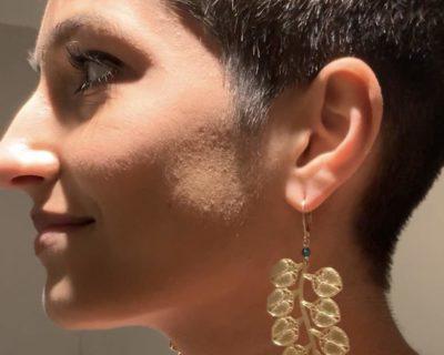Boucles d'oreilles Feline 4.5