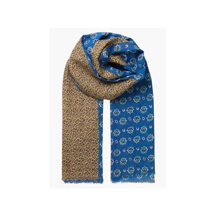 foulard viben bleu becksondergaard