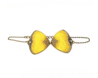 bracelet pive jaune amélie blaise