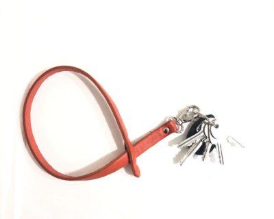 Dragonne pour clés orange