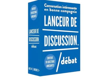 lanceur discussion débat