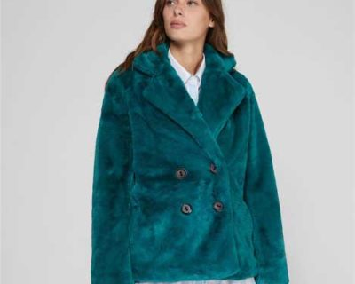 manteau caracas vert cks made by moi