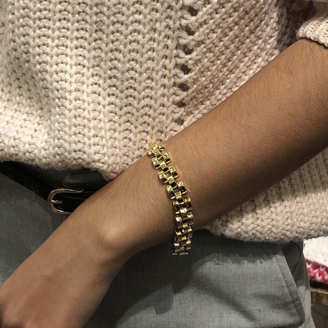 bracelet maillon stateman