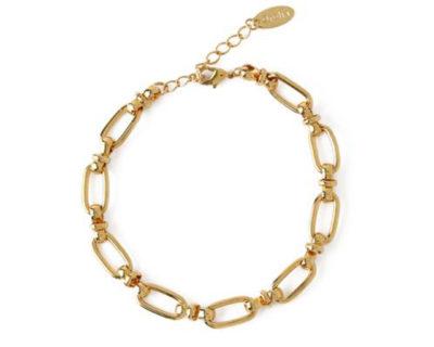 Bracelet maillon oval