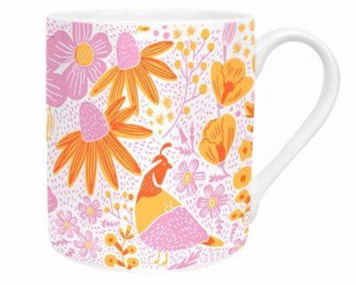 mug california floral
