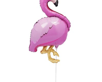 ballon flamant rose