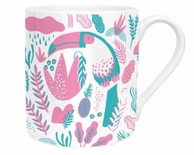 Mug tropical toucan