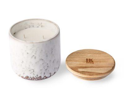 Bougie nordique en céramique