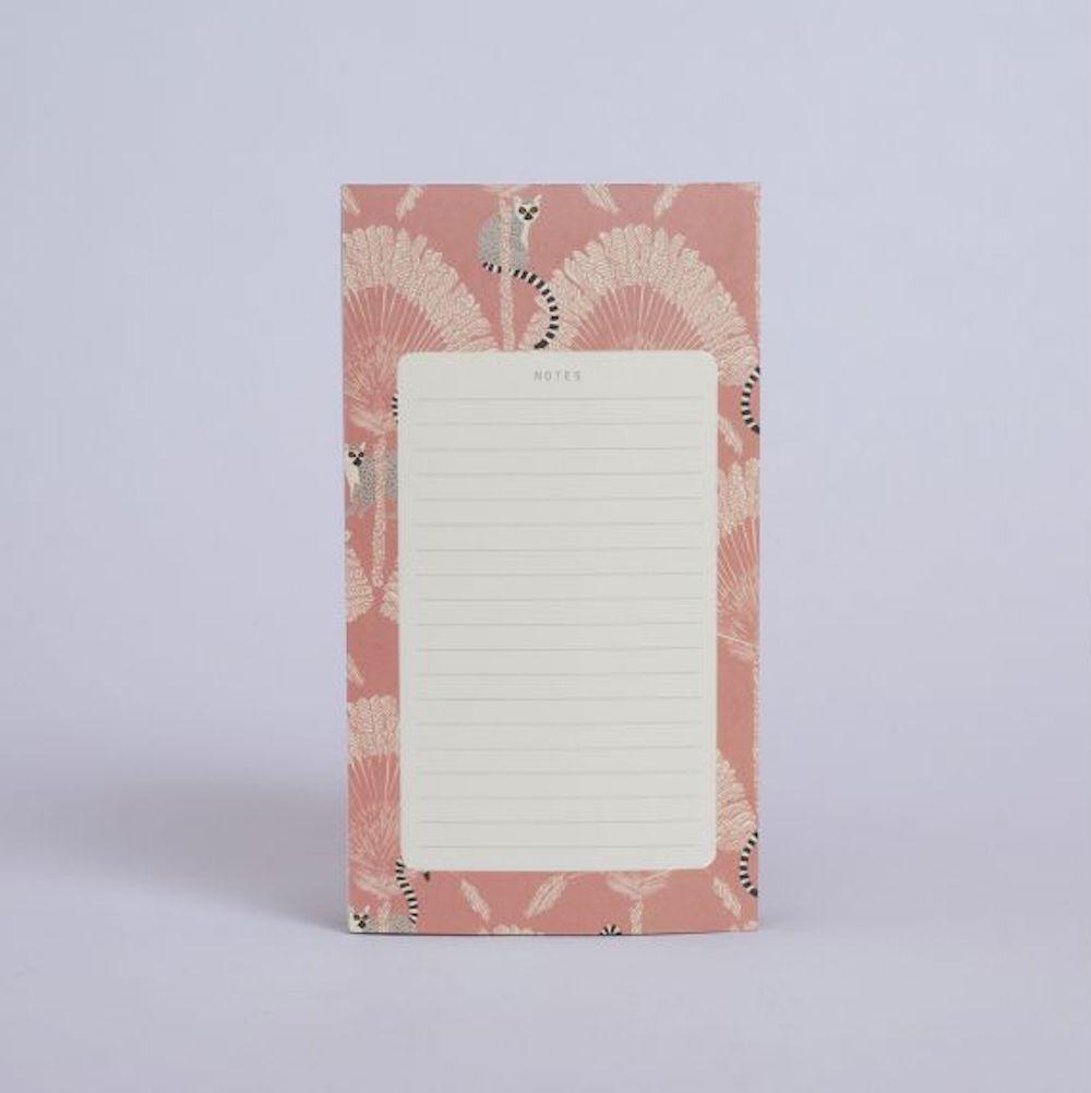 Bloc notes lémuriens