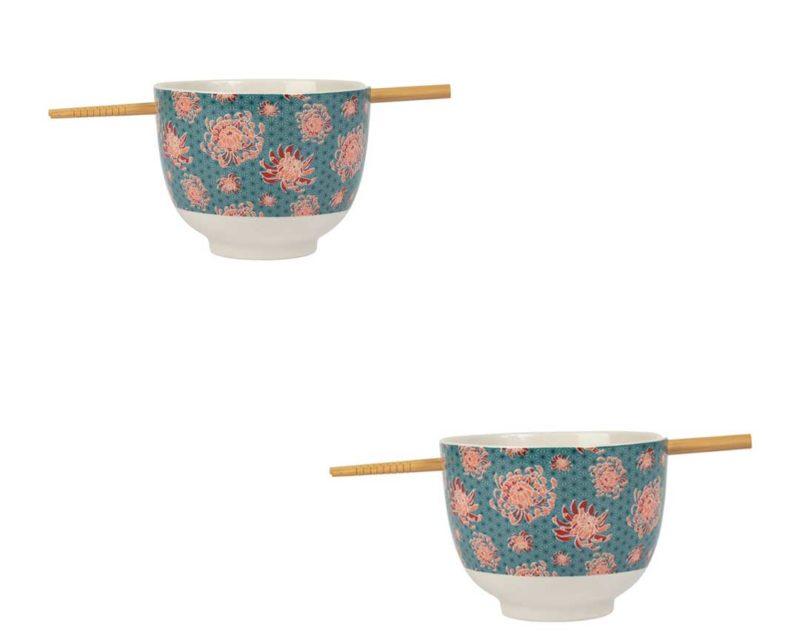 Set 2 bols baguettes