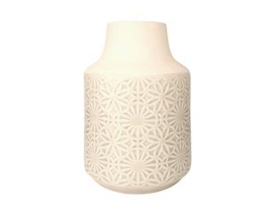 vase céramique perlé