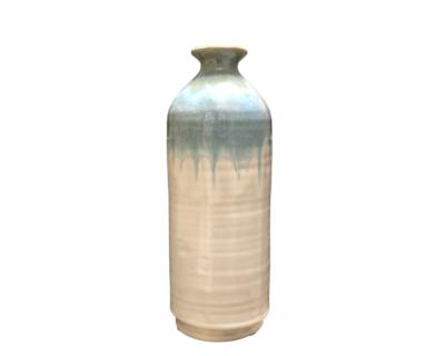 Vase céramique aqua