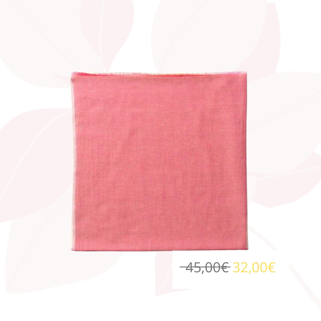 Foulard vikko rose