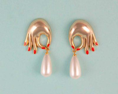Boucles d'oreilles perles coucou suzette