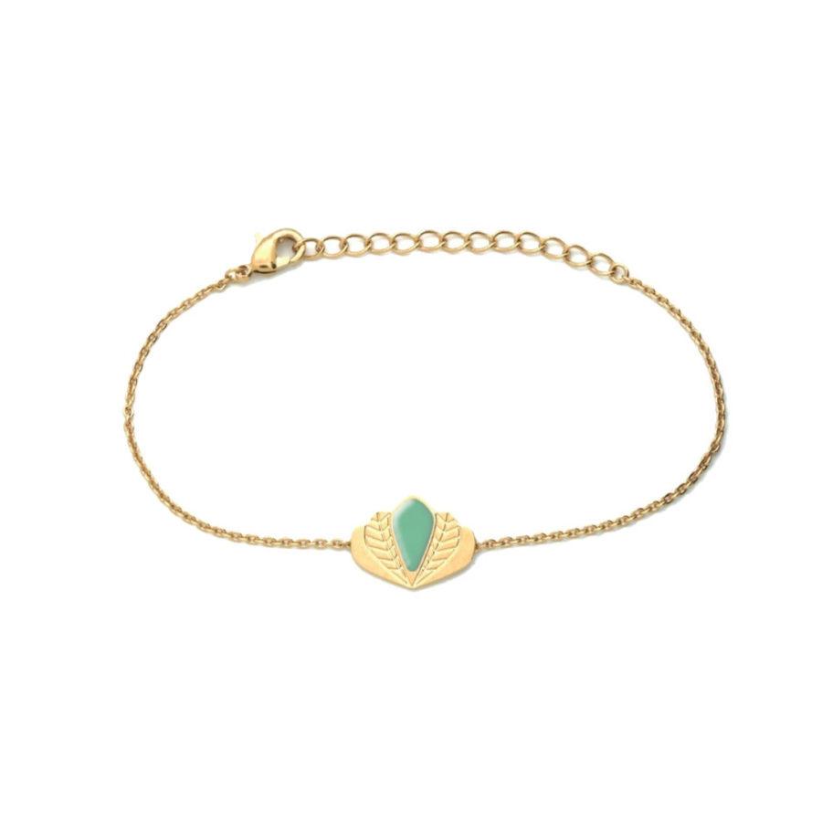 Bracelet-Chloé-vert-eucalyptus