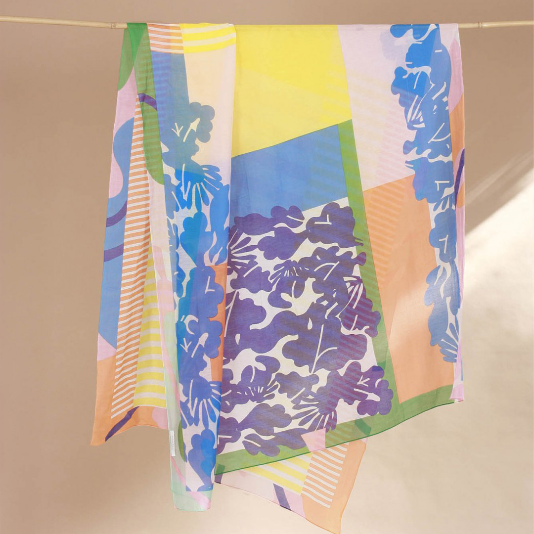 foulard garden sun