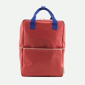 Sac à dos faded rouge L
