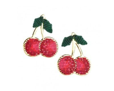 Boucles d'oreilles lucky cherries
