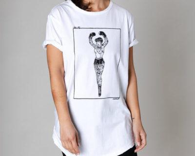 t-shirt lady boxer