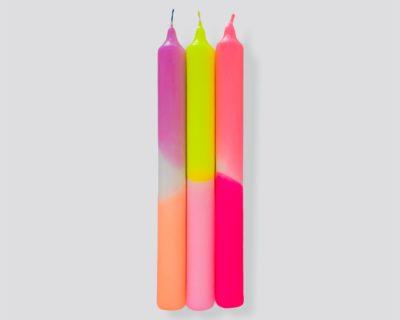 bougies neon summer breeze