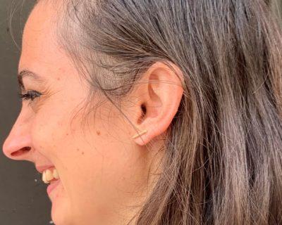Boucles d'oreilles Barrettes