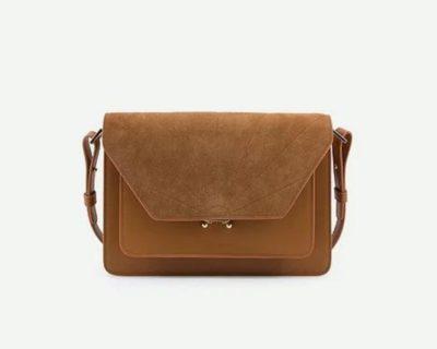 sac satchel brun
